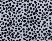 Dalmation Print Velboa Fur 60 Inch Fabric By The Yard - 1 Yard
