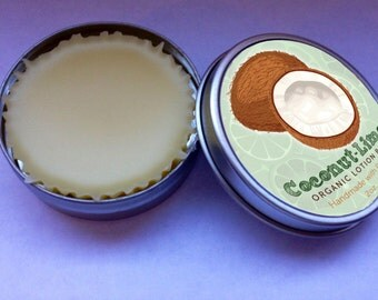 Organic Coconut Lime Lotion Bar