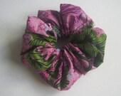 Scrunchie - batik - pink