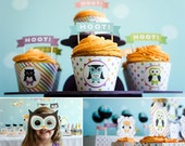 DIY Owl Birthday Party Printables