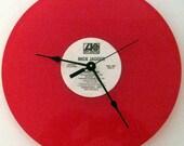 MICK JAGGER Record Clock - Sweet Thing - Upcycled