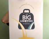 Limited Edition The Big Lebowski Movie Poster