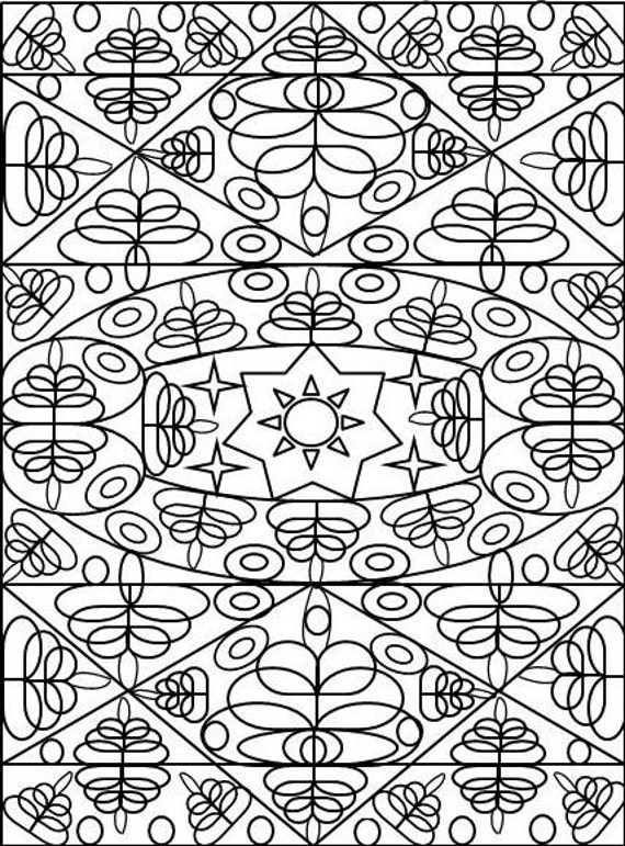 indian designs coloring pages - photo#20