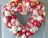 Valentine Heart Wreath-SOLD, ornament wreath