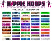 CUSTOMIZE your polypro (2 Vinyl Colors, One Specialty Color)- ADD ON to any polypro hoop
