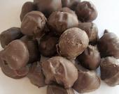 Chocolate Wasabi Coated peanuts, Hand Coated Wasabi Peanuts, Spicy Chocolate 5 oz bag