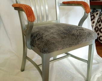 SOLD GoodForm chair done funky