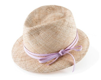Summer Straw Hat , Panama Hat ,  Fedora Straw Hat