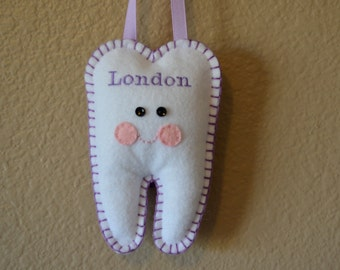 Tooth Fairy Personalized Tooth Pillow