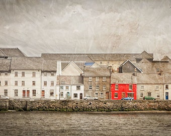 "The red one in Galway Ireland 14""X24""  photograph."