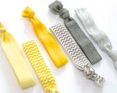 Chevron Hair Tie Set: Choose One Set