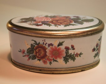 Vintage Tin Box Made By Meister In Brazil