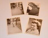 Black and White Pictures, Philadelphia Photos, Set of 4 Black and White Photos from Philly