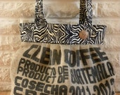 Recycled Coffee Burlap Bag