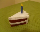 Cake Slice Organic Catnip Cat Toy