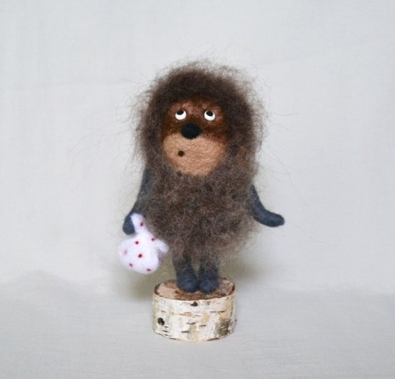 Hedgehog in the fog... I will make this item for your order