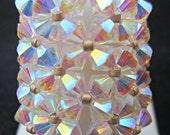 Crystal AB 2x Swarovski Crystal Cocktail Bling Ring