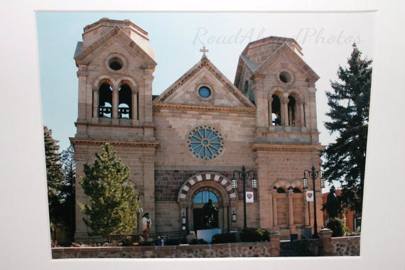 8x10 historic church in downtown Santa Fe: chapel, NM