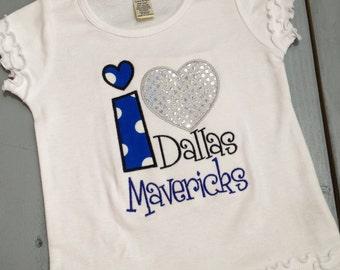 Custom I Heart Dallas Mavericks Boutique Shirt