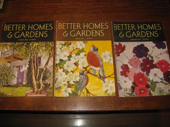 Vintage Better Homes And Gardens 1935 By Strokeofluckdesign