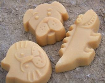 Kid's nourishing and healing natural handmade soapbar 60 grams