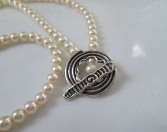 LifeSpirals Pearl Necklace