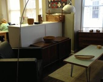 Sweeping Arc Lamp Kovacs mid century modern Eames Era