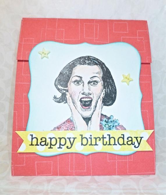 Items Similar To Gift Card Holder Happy Birthday, Humorous