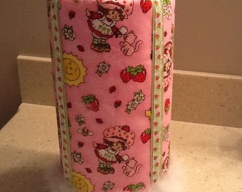 Strawberry Girl headband/clippie holder