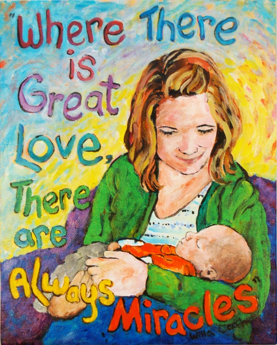 custom portraits  Mother Child Portrait original painting from your photo choose your size  Peggy Johnson everygoodcolor