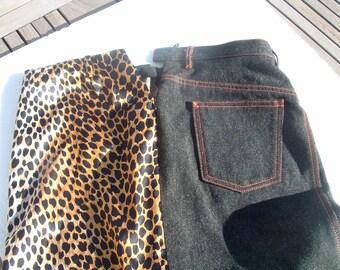 DOLCE GABBANA skirt avant garde made in Italy circa 1980's