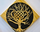 The Sacred Oak (Oley, PA) with Celtic Love Knot Hex