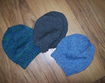Mens, Teens or Womens Soft  Merino Beenie Hat