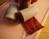 Strawberry Fruit Leather or Fruit Roll up
