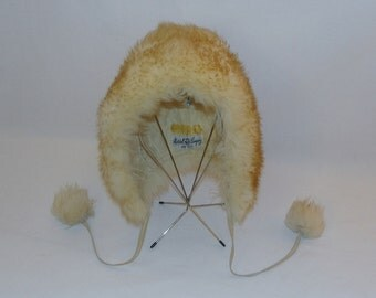 Vintage Winter Wool Hat by Marshall Field and Company