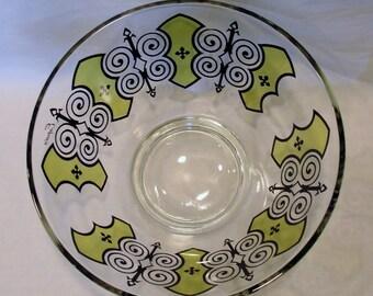 1970s Espana Designed Glass Bowl