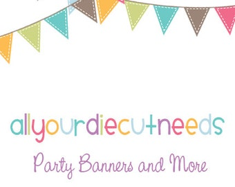 Add a Name to any Happy Birthday Banner