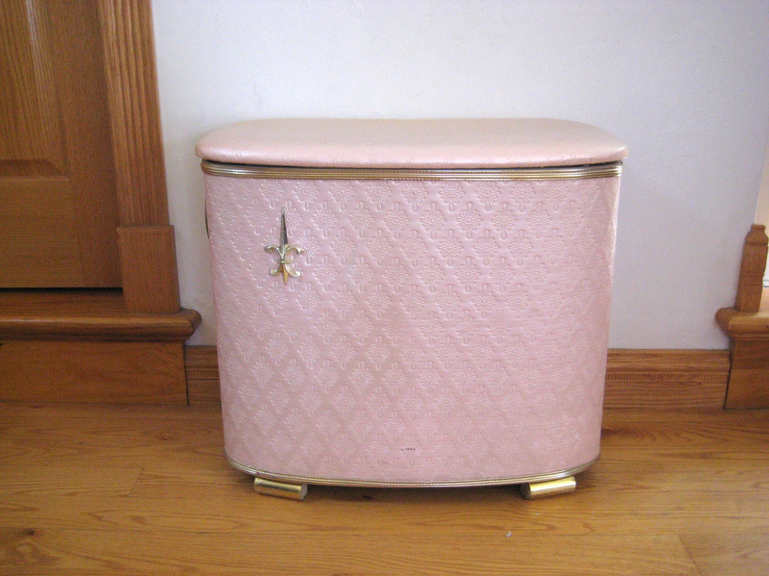 Mid Century Clothes Hamper Vintage Laundry Bin By PatinaMarket