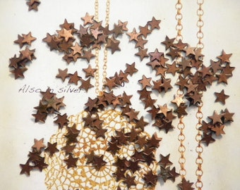 72 Coppercoated Star Findings