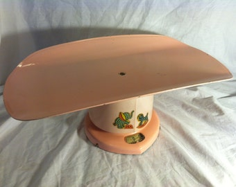 Antique PINK COUNSELOR Baby SCALE