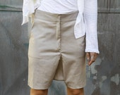 Short pants, Beige short pants