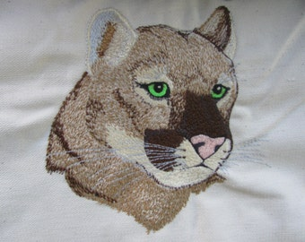 """Embroidered """"Cougar"""" Hoodie"""