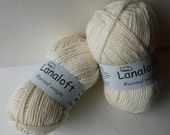 Yarn Sale  - Cottage White Lanaloft by Brown Sheep Company
