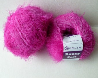 Yarn Sale  - Magenta Bunny Soft by Berlini