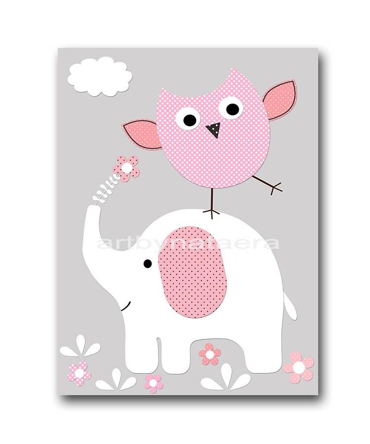Nursery Art For Children Kids Wall Art Baby Girl Nursery Baby
