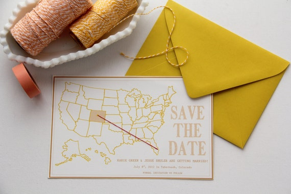 Destination Wedding Save the Date - 100