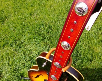 Concho Guitar Strap