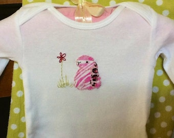 Bunny Love infant/baby onesie