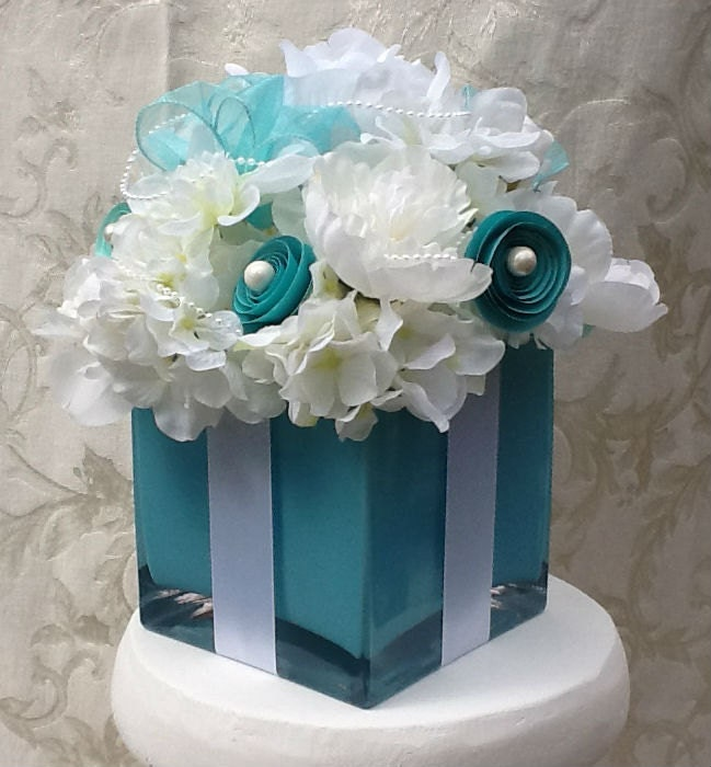 Wedding decorations centerpiece bridal shower sweet 16 silk Wedding shower centerpieces
