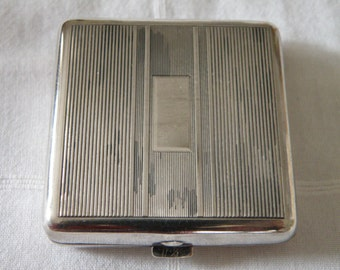 Art Deco Sterling Silver Compact